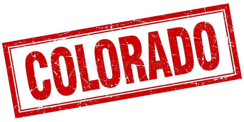 Γραμματόσημο του Κολοράντο ελεύθερη απεικόνιση δικαιώματος