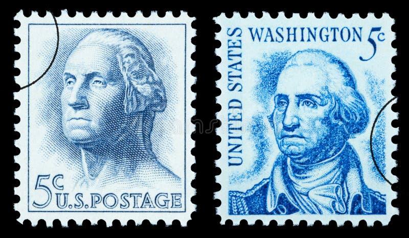 Γραμματόσημο του George Washington στοκ εικόνα