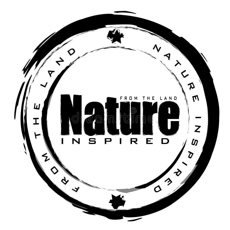 γραμματόσημο φύσης απεικόνιση αποθεμάτων