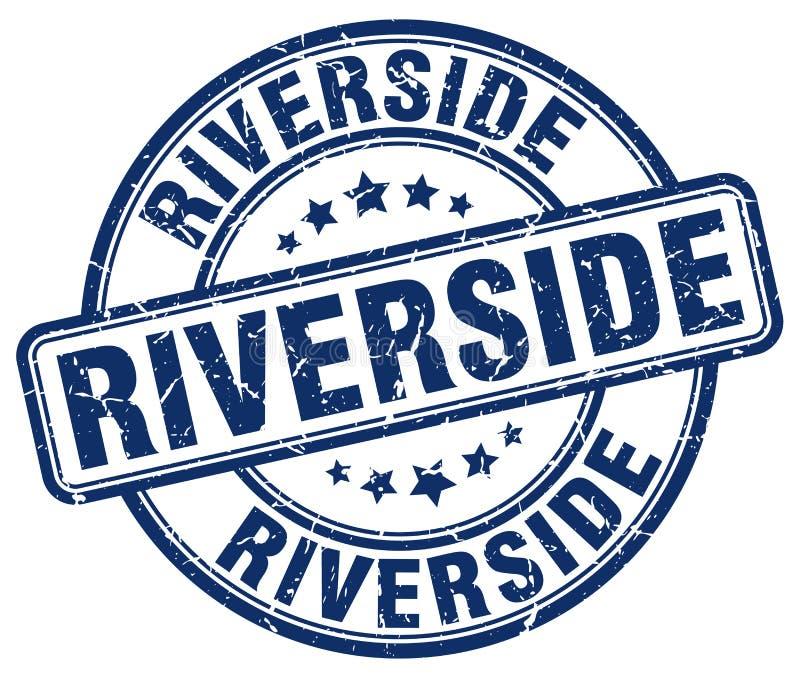 Γραμματόσημο όχθεων ποταμού απεικόνιση αποθεμάτων