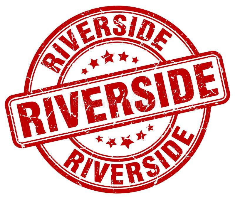 Γραμματόσημο όχθεων ποταμού ελεύθερη απεικόνιση δικαιώματος