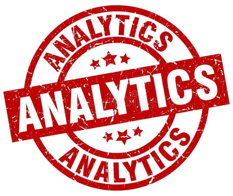 Γραμματόσημο Analytics ελεύθερη απεικόνιση δικαιώματος