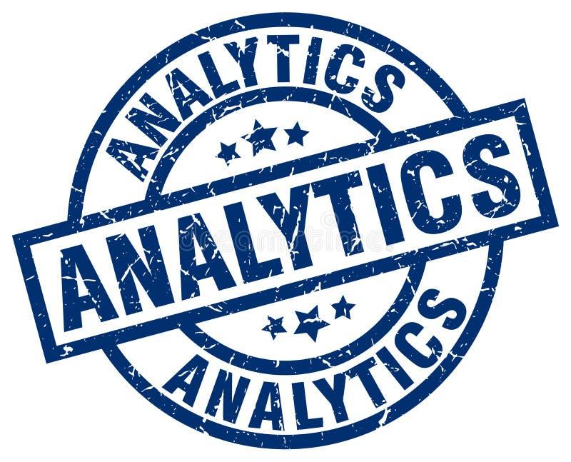 Γραμματόσημο Analytics διανυσματική απεικόνιση