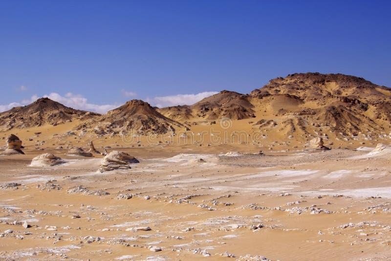 Γραπτή έρημος στοκ φωτογραφίες με δικαίωμα ελεύθερης χρήσης