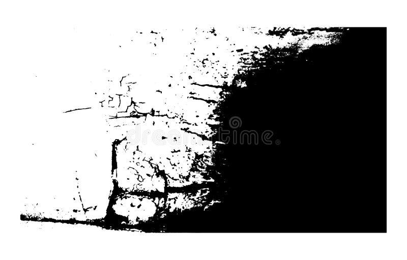 Γραπτή διανυσματική σύσταση Grunge ελεύθερη απεικόνιση δικαιώματος