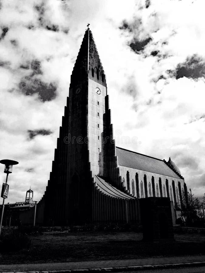 Γραπτός καθεδρικός ναός στοκ εικόνα με δικαίωμα ελεύθερης χρήσης