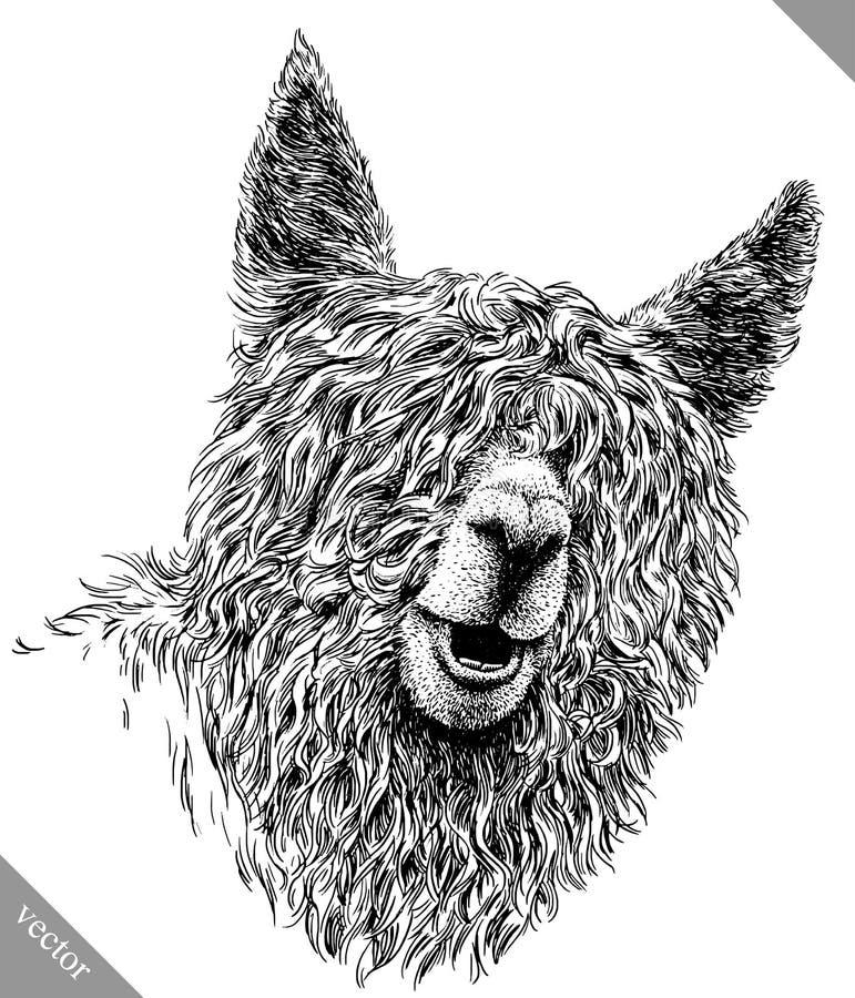 Γραπτός χαράξτε την απομονωμένη διανυσματική απεικόνιση λάμα διανυσματική απεικόνιση