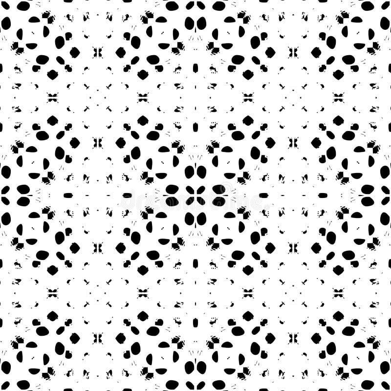 Γραπτό άνευ ραφής ακατάστατο σχέδιο σκόνης Grunge Ηλικίας στοιχείο σχεδίου διανυσματική απεικόνιση