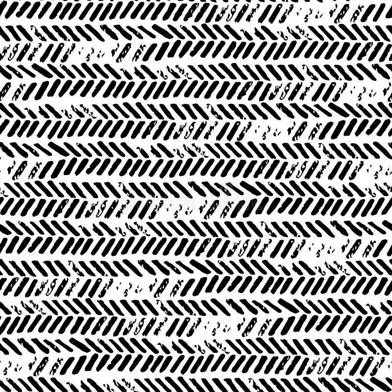 Γραπτό άνευ ραφής αφηρημένο σχέδιο Σύσταση Grunge print ελεύθερη απεικόνιση δικαιώματος