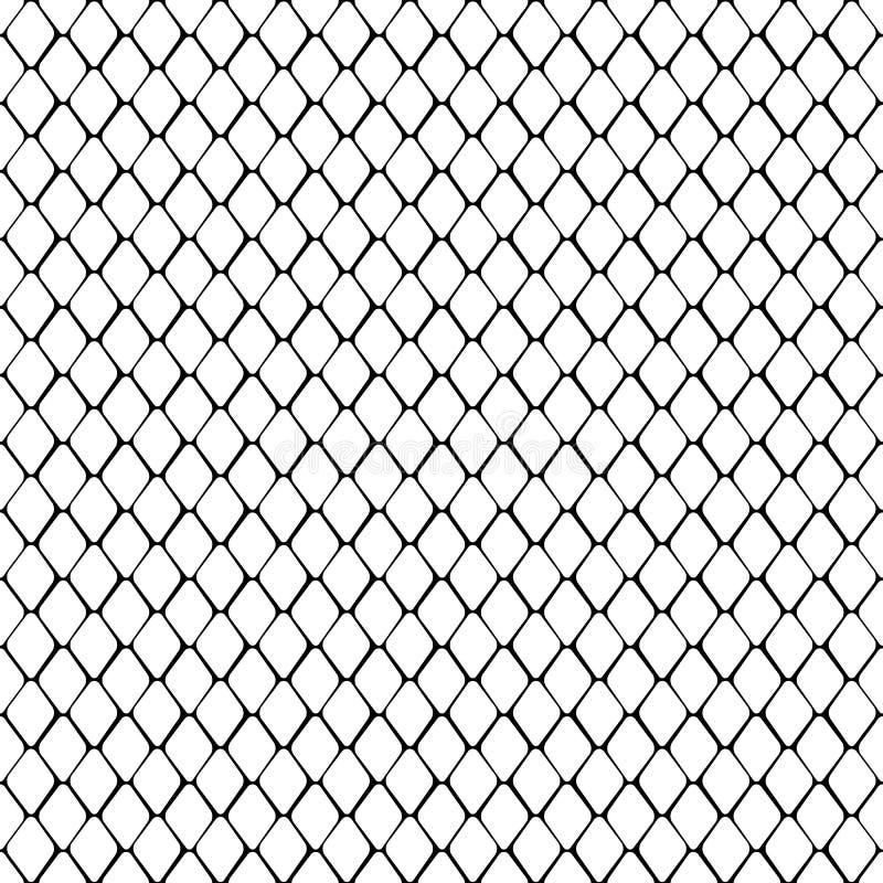 Γραπτό άνευ ραφής σχέδιο δερμάτων φιδιών ελεύθερη απεικόνιση δικαιώματος