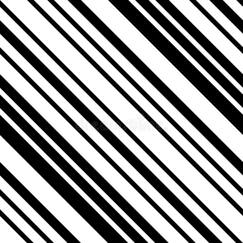 Γραπτό διαγώνιο ριγωτό άνευ ραφής σχέδιο ελεύθερη απεικόνιση δικαιώματος