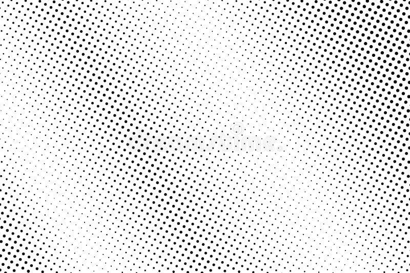 Γραπτό ημίτονο διανυσματικό υπόβαθρο Διαγώνια κλίση σημείων Τραχιά επιφάνεια dotwork Εξασθενισμένος διαστιγμένος ημίτονος διανυσματική απεικόνιση