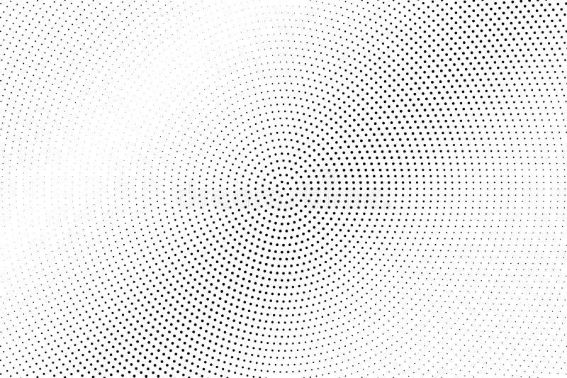 Γραπτό ημίτονο διανυσματικό υπόβαθρο Διαγώνια κλίση στη χλωμή σύσταση dotwork Εξασθενισμένος διαστιγμένος ημίτονος απεικόνιση αποθεμάτων