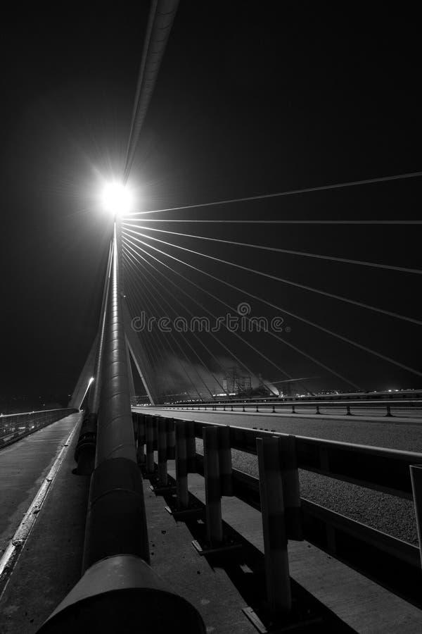 Γραπτό τμήμα γεφυρών στοκ φωτογραφίες