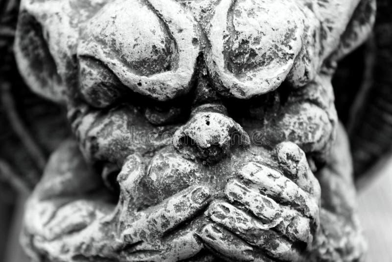 Γραπτό Gargoyle στοκ εικόνες
