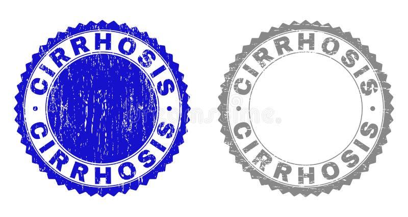Γρατσουνισμένες σφραγίδες γραμματοσήμων Grunge ΚΙΡΡΩΣΗ ελεύθερη απεικόνιση δικαιώματος