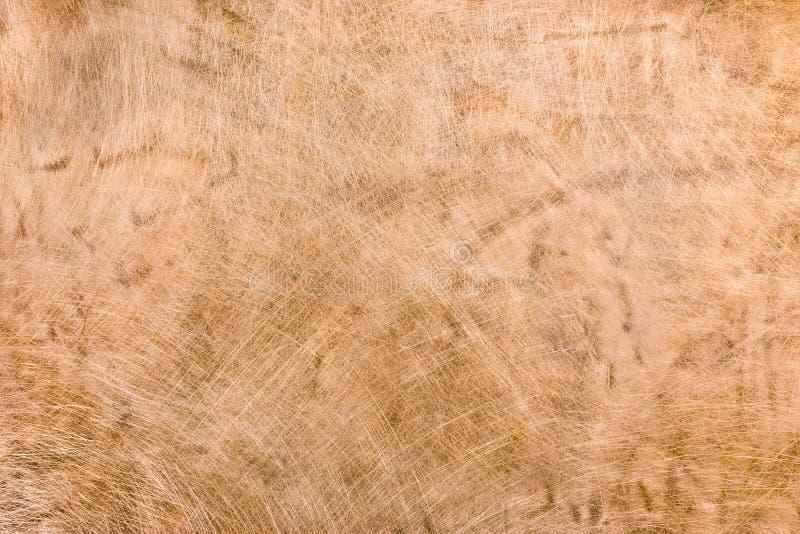 Γρατσουνισμένη και λεκιασμένη παλαιά βρώμικη σύσταση μεταλλικών πιάτων χαλκού στοκ φωτογραφία με δικαίωμα ελεύθερης χρήσης