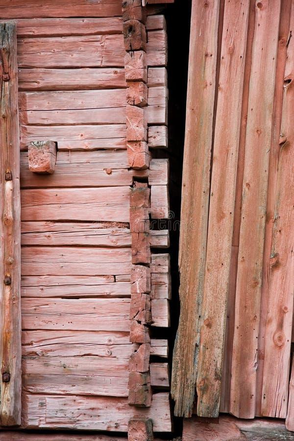 Γραφέας-κατάλληλο σπίτι κούτσουρων στοκ φωτογραφία με δικαίωμα ελεύθερης χρήσης