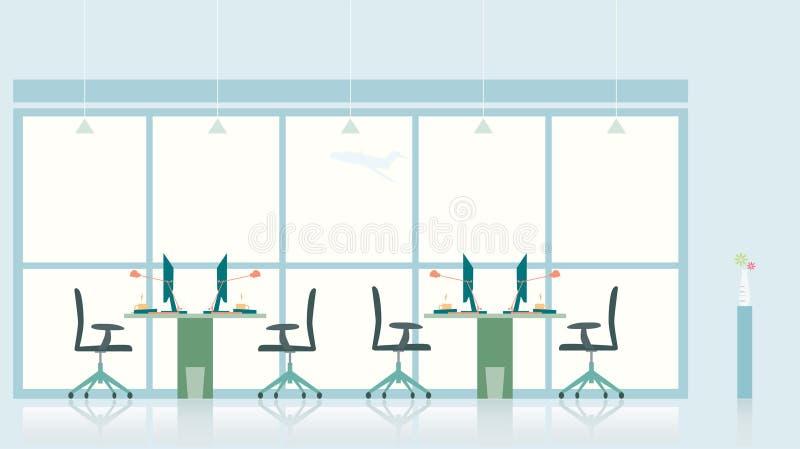 γραφείο απεικόνισης διανυσματική απεικόνιση