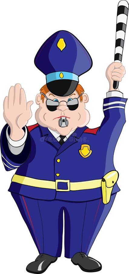 Γραφείο αστυνομίας απεικόνιση αποθεμάτων