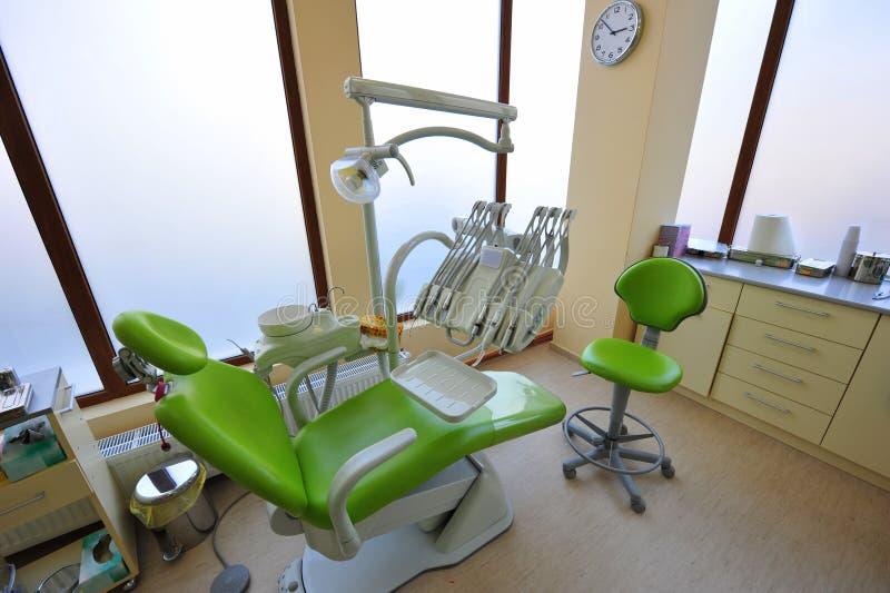 Γραφείο γιατρών (οδοντικά εργαλεία προσοχής) στοκ φωτογραφίες