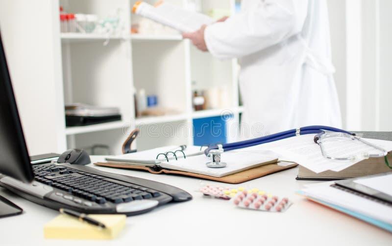 Γραφείο γιατρών στοκ εικόνα