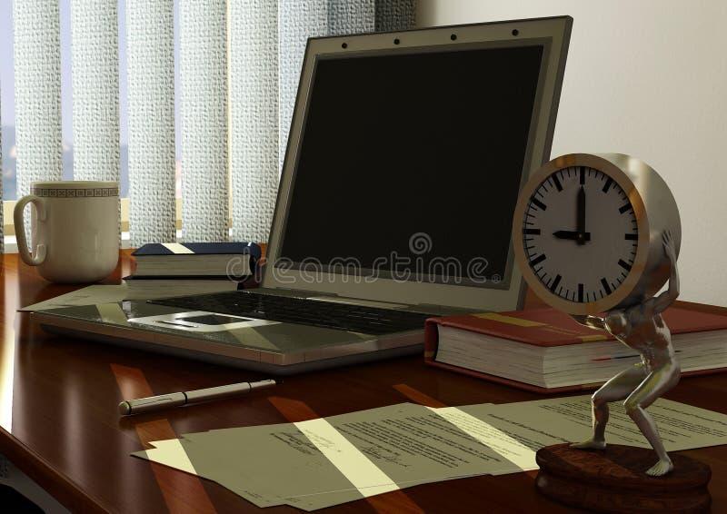 γραφείο γραφείων απεικόνιση αποθεμάτων