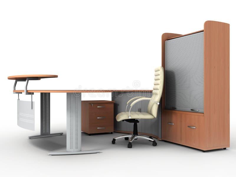 γραφείο επίπλων διανυσματική απεικόνιση