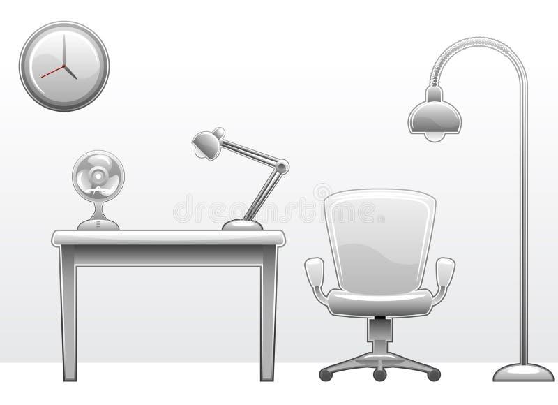 γραφείο επίπλων ελεύθερη απεικόνιση δικαιώματος