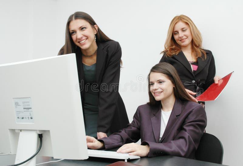 γραφείο κοριτσιών στοκ εικόνες