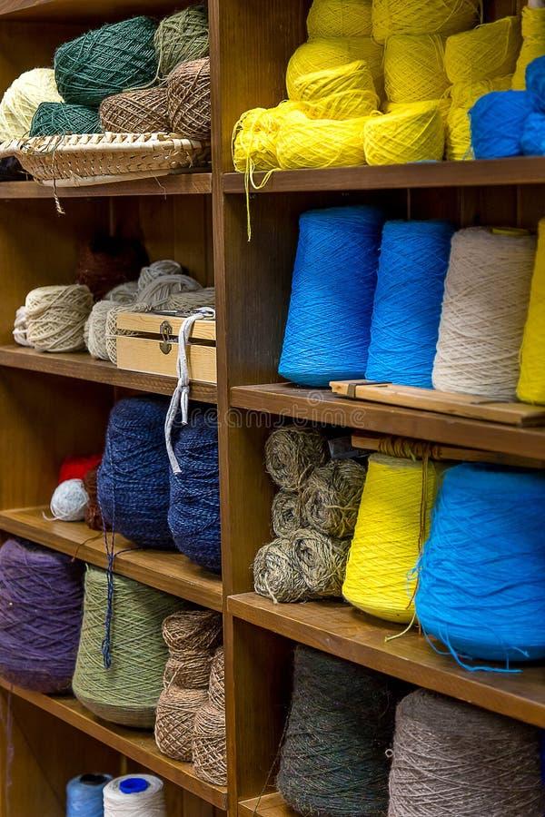Γραφείο του μασουριού ράβοντας νημάτων στοκ εικόνες με δικαίωμα ελεύθερης χρήσης
