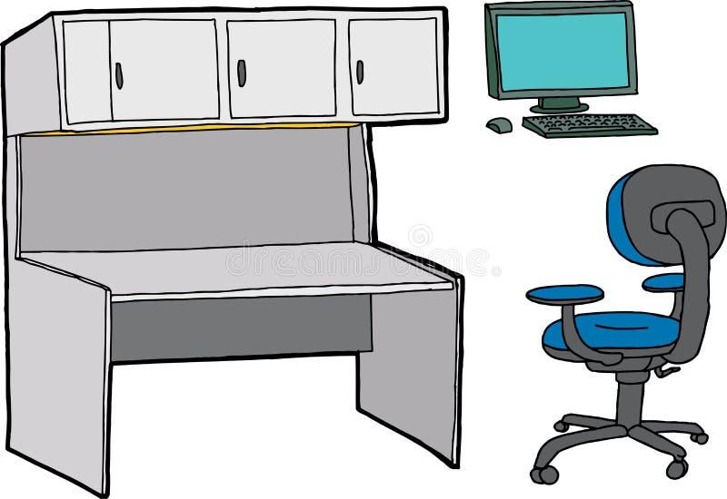 Γραφείο Furntiure ελεύθερη απεικόνιση δικαιώματος
