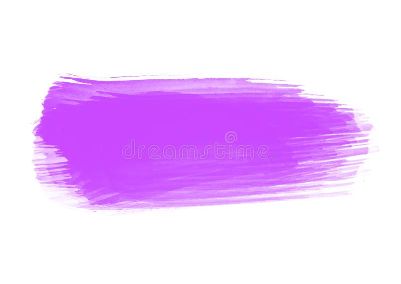 Γραφικά μπαλώματα κτυπημάτων βουρτσών χρώματος υδατοχρώματος μπαλωμάτων ελεύθερη απεικόνιση δικαιώματος
