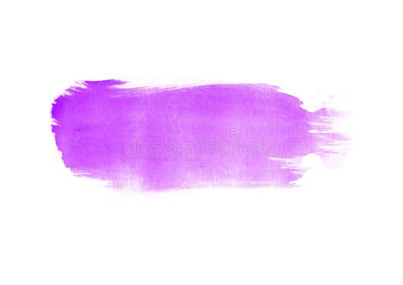 Γραφικά μπαλώματα κτυπημάτων βουρτσών χρώματος υδατοχρώματος μπαλωμάτων διανυσματική απεικόνιση