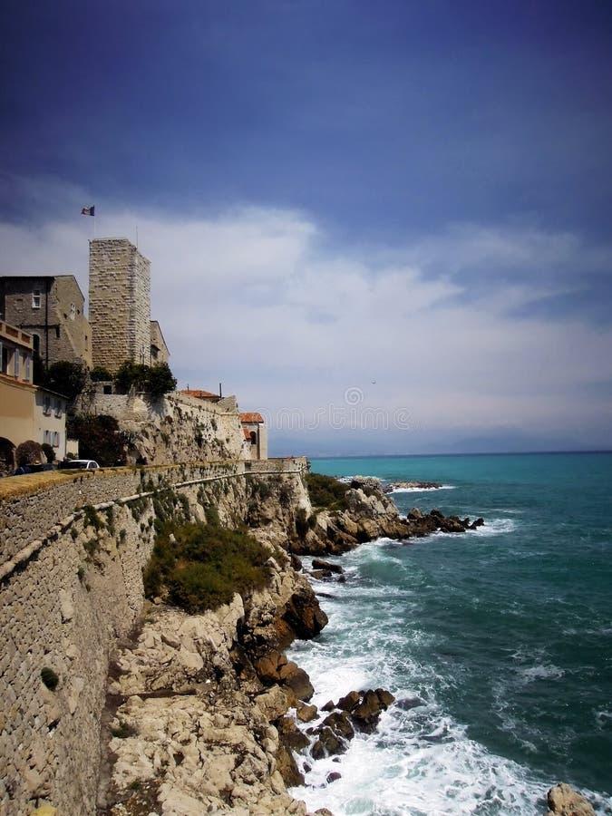 Γραφικά τοπία της Νίκαιας, Γαλλία στοκ φωτογραφία με δικαίωμα ελεύθερης χρήσης