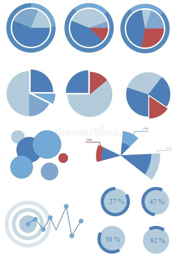 γραφικές πληροφορίες διανυσματική απεικόνιση