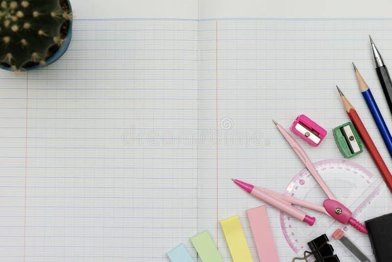 Γραφική έννοια εργαλείων Math στοκ φωτογραφία με δικαίωμα ελεύθερης χρήσης