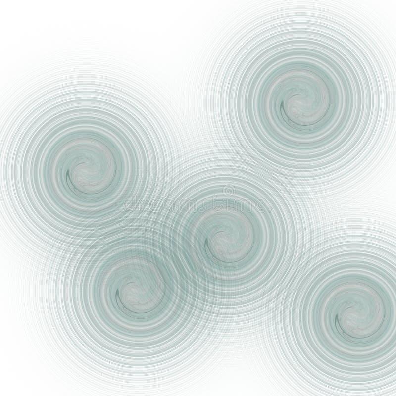 γραφική ζωή επιχειρησιακών κύκλων συνόρων διανυσματική απεικόνιση