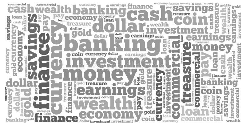 Γραφική παράσταση πληροφορία-κειμένων χρημάτων και έννοια ρύθμισης στοκ εικόνα