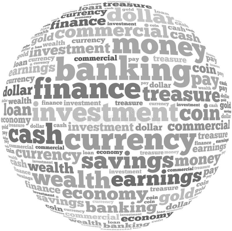 Γραφική παράσταση πληροφορία-κειμένων χρημάτων και έννοια ρύθμισης στοκ εικόνες