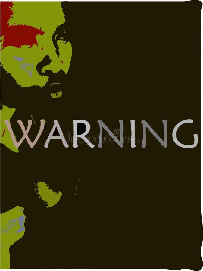 γραφική προειδοποίηση διανυσματική απεικόνιση