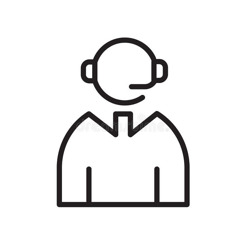 γραφικός αποστολέας Εικονίδιο που απομονώνεται στην άσπρη ανασκόπηση απεικόνιση αποθεμάτων