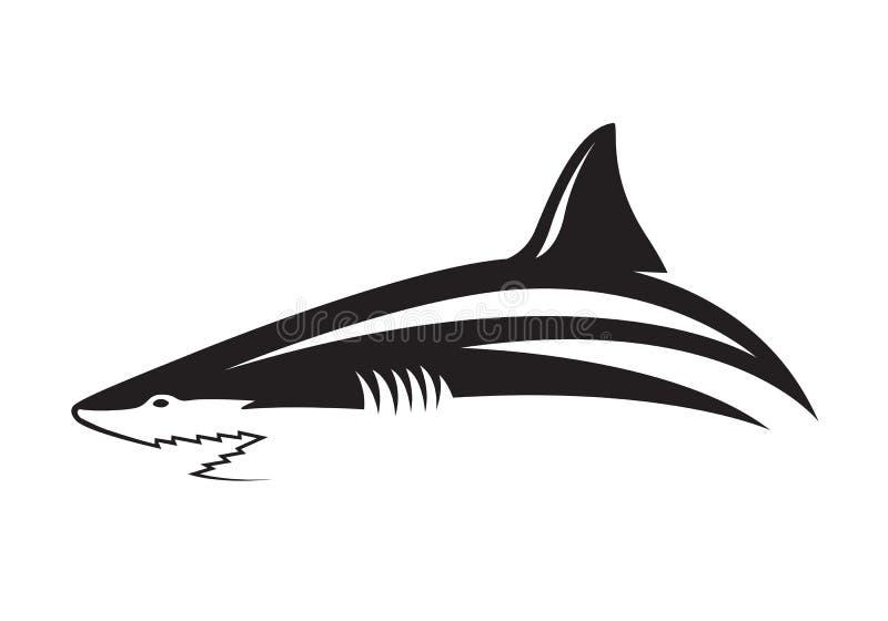 Γραφικός καρχαρίας ελεύθερη απεικόνιση δικαιώματος