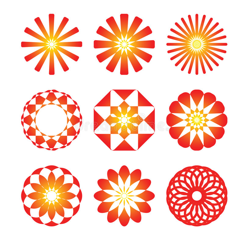 Download γραφικός κύκλος εικονι& απεικόνιση αποθεμάτων. εικονογραφία από θερμός - 1548081
