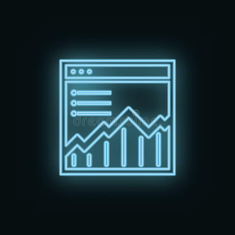 Γραφικός, περιοχή, δίκτυο, νέο, εικονίδιο Διανυσματικό εικονίδιο ανάπτυξης Ιστού Στοιχείο του απλού συμβόλου για τους ιστοχώρους, απεικόνιση αποθεμάτων