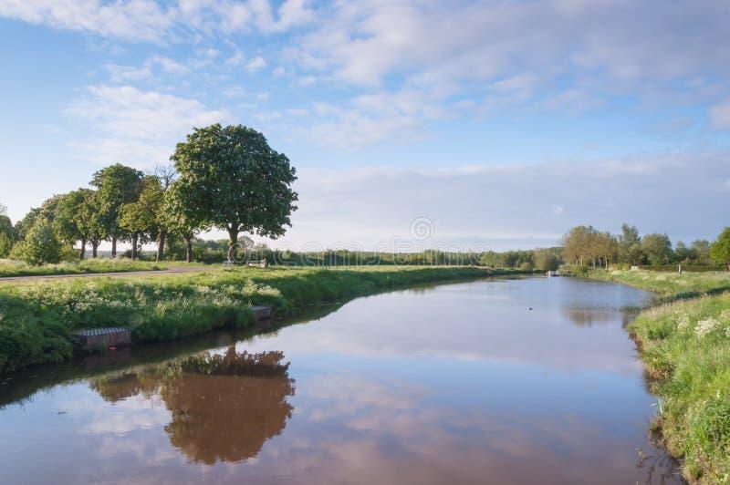 γραφικός ποταμός τοπίων μικρός στοκ φωτογραφία με δικαίωμα ελεύθερης χρήσης