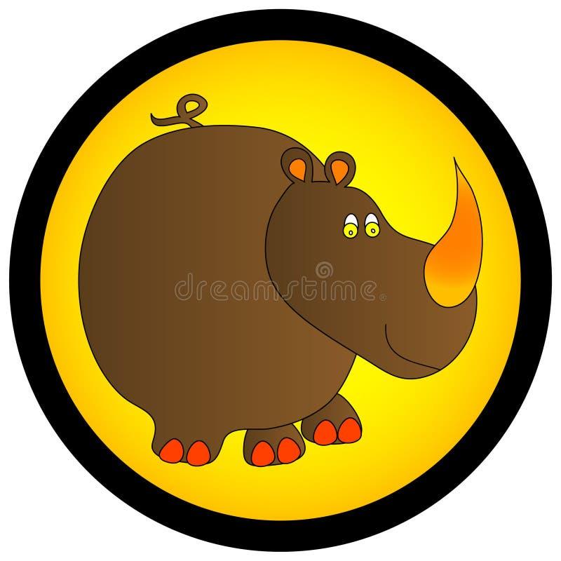 γραφικός ρινόκερος απεικόνιση αποθεμάτων