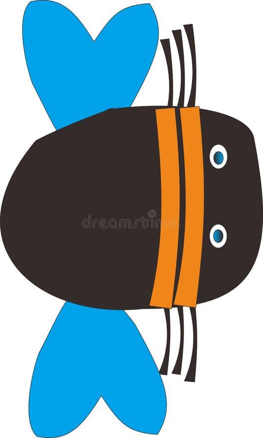 γραφικό ζώο εντόμων σχεδίου στοκ εικόνα