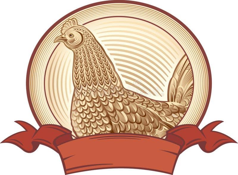 Γραφικό κοτόπουλο απεικόνιση αποθεμάτων