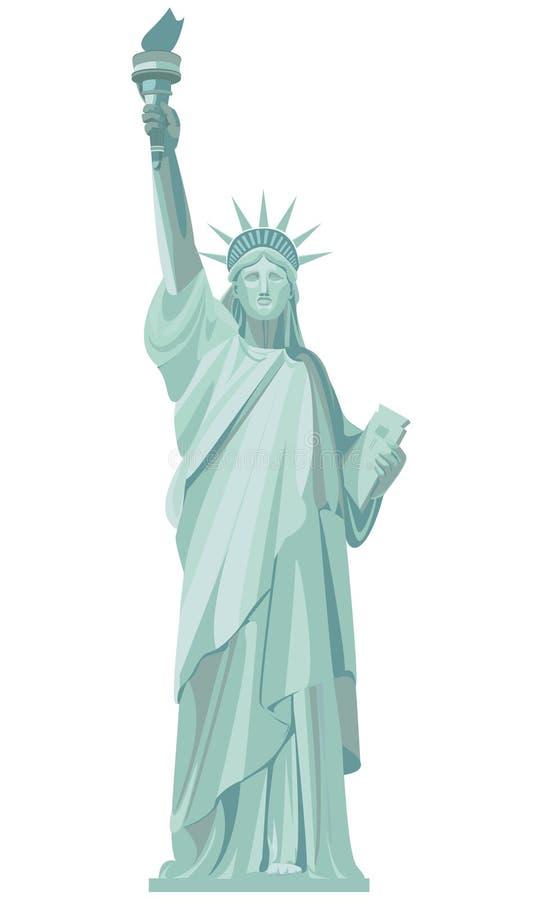 Γραφικό σχέδιο του αγάλματος της ελευθερίας στοκ εικόνα με δικαίωμα ελεύθερης χρήσης